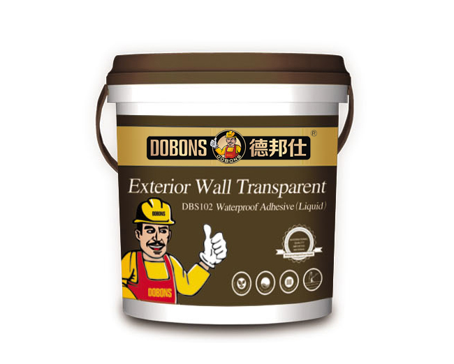 DBS102 Exterior Wall Transparent Waterproof Adhesive